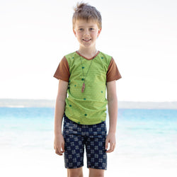 roastedfox-colourful-childrens-kids-boys-girls-clothes-clothing-Rasu S/S Tee-Tops-roastedfox