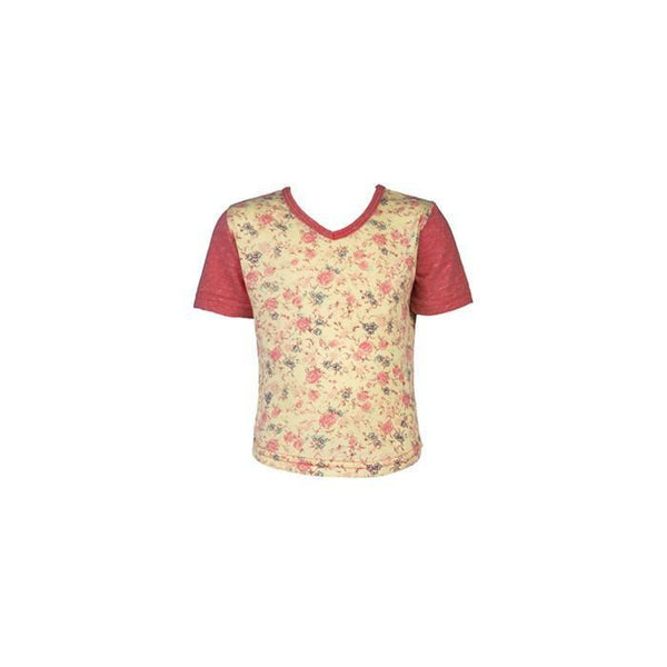roastedfox-colourful-childrens-kids-boys-girls-clothes-clothing-Rosebud S/S Tee-Tops-roastedfox