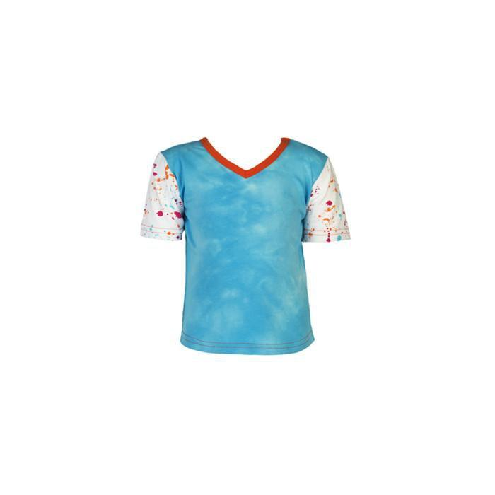 roastedfox-colourful-childrens-kids-boys-girls-clothes-clothing-Somers S/S Tee-Tops-roastedfox