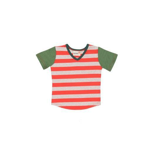roastedfox-colourful-childrens-kids-boys-girls-clothes-clothing-Tango S/S Tee-Tops-roastedfox