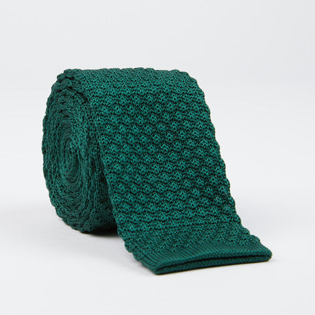 Knit Tie (forest green)