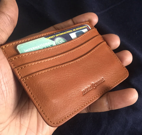 'The Nomad' Leather Cardholder