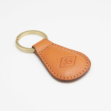 Leather Key Fob (maple)