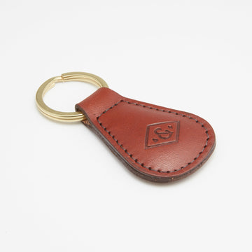 Leather Key Fob (walnut)