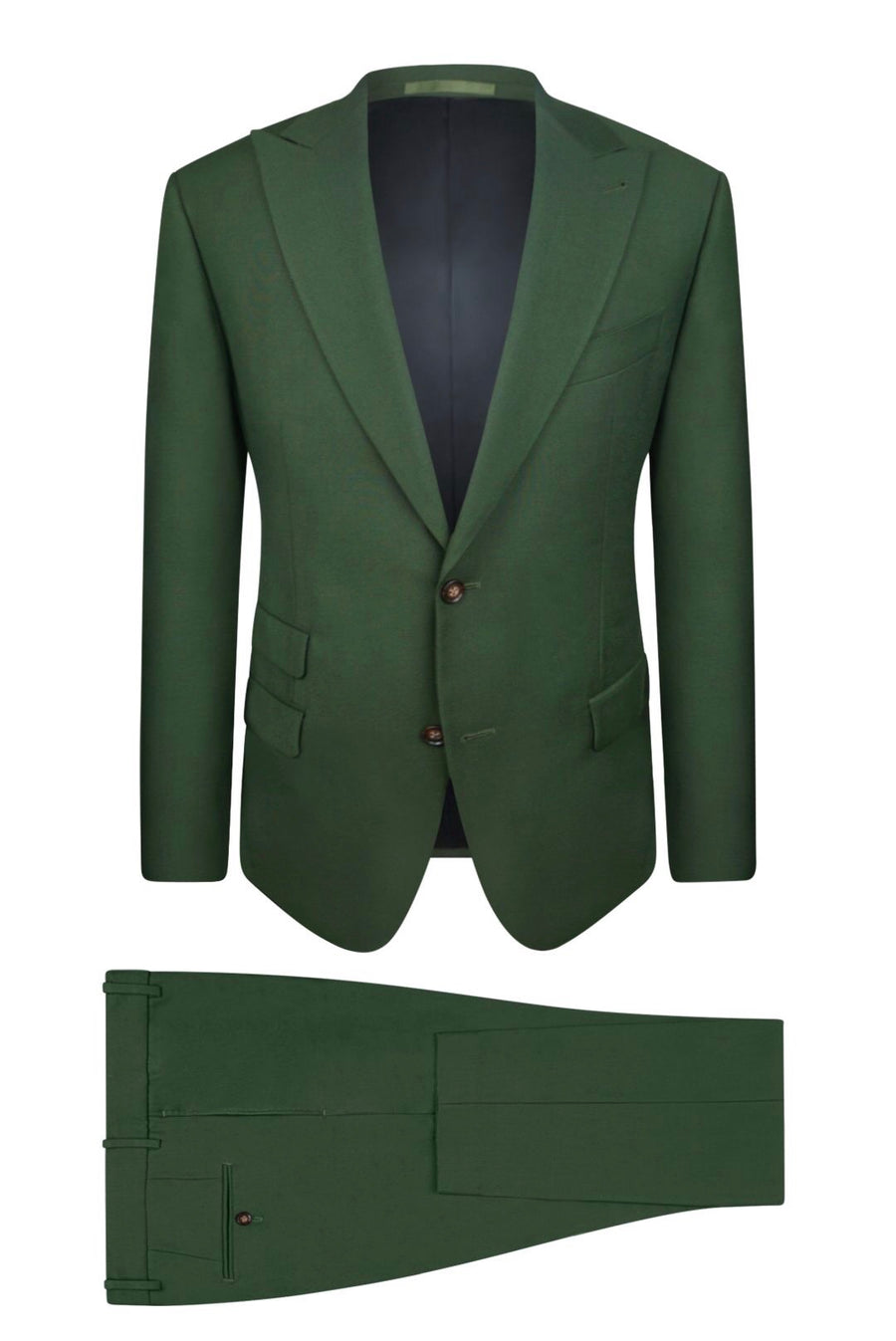 Forest Green Suit Pant