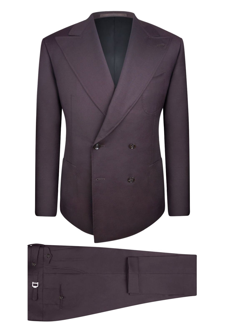 Midnight Mahogany Suit Pant