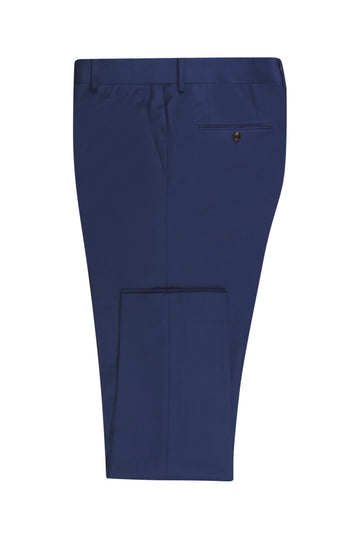 Navy Blue Slim Fit Suit Pant