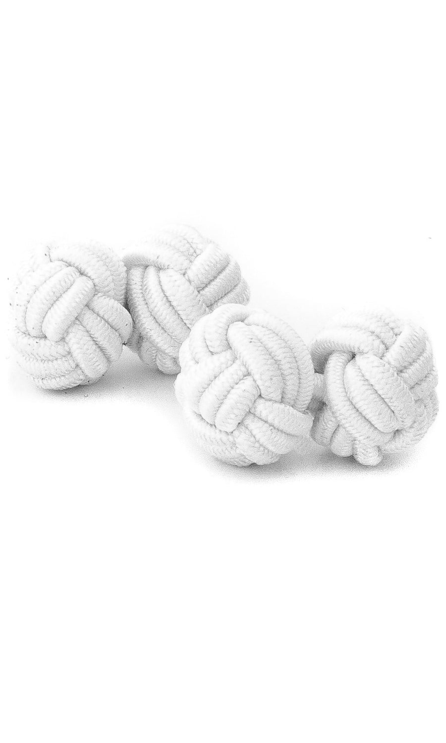 Silk Rope Knots (white)