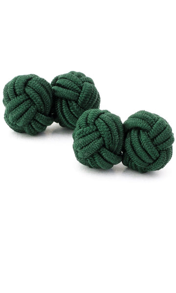 Silk Rope Knots (forest green)