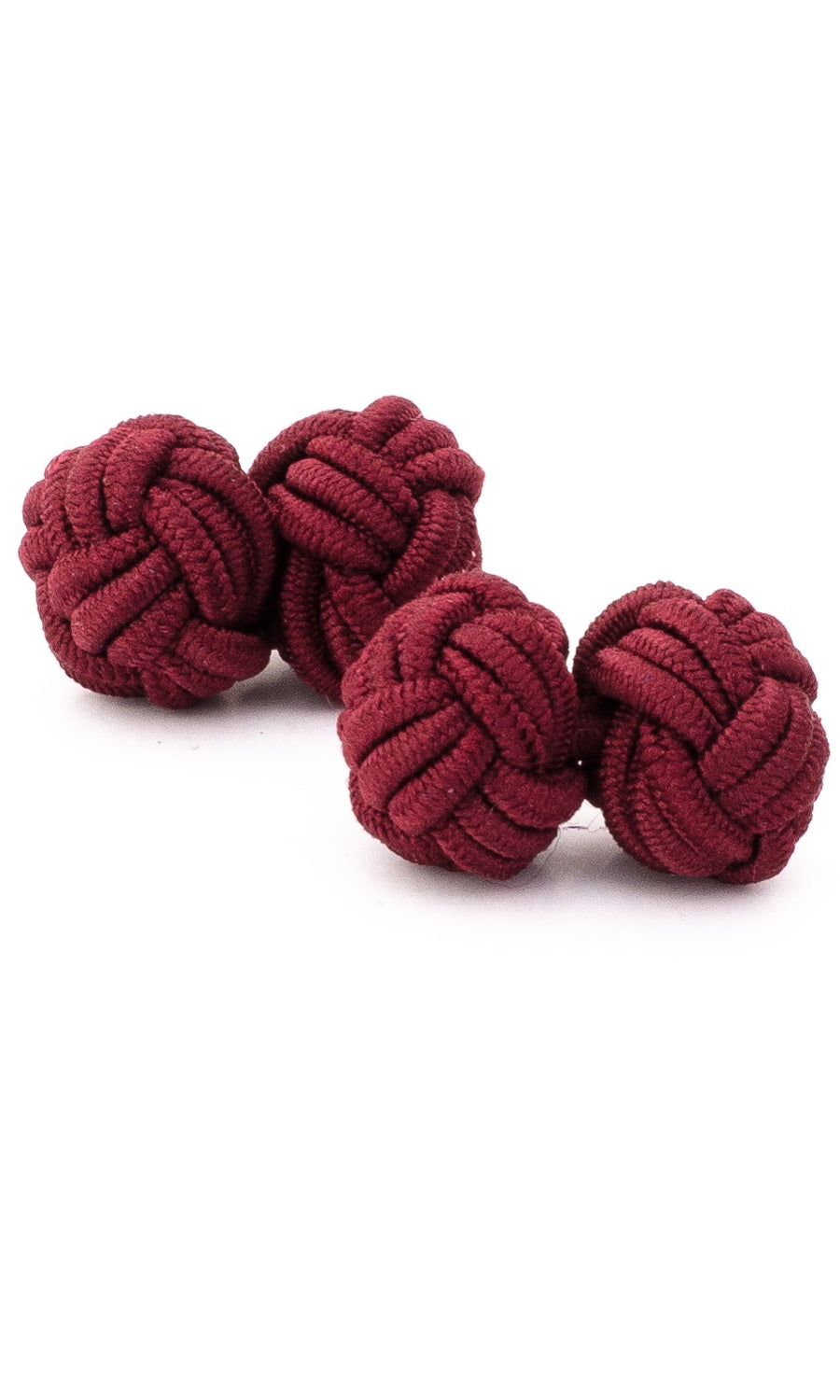 Silk Rope Knots (burgundy)