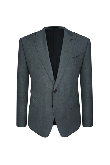 Medium Grey Slim Fit Suit Jacket