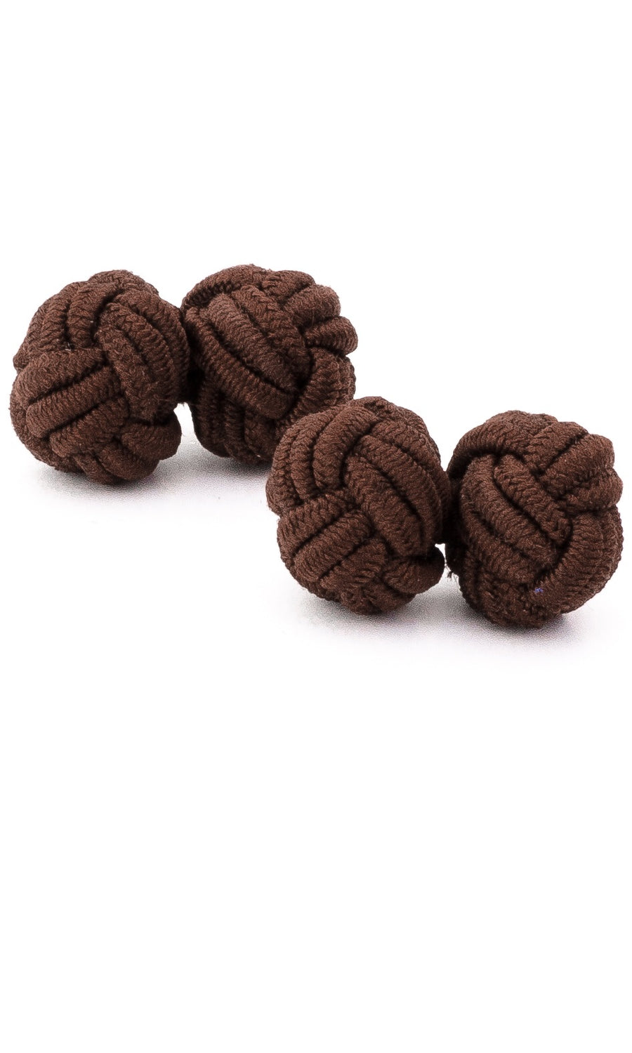 Silk Rope Knots (chocolate)