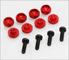 Highest RC Servo Grommet 4.5mm (8 pcs) - Red / Black / Silver / Blue