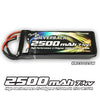 Silverback 2500mAh 7.4V 2S Lipo Receiver Battery (JR Plug)