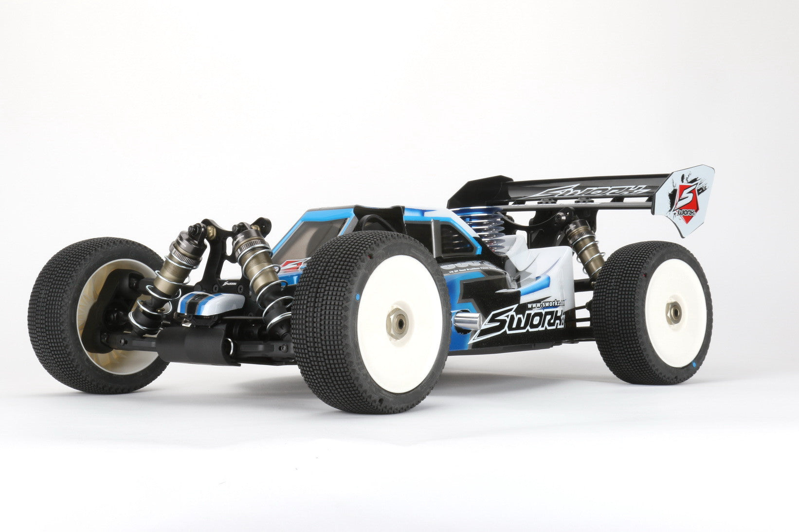 SWORKz S14-3 1/10 4WD EP Off Road Racing Buggy Pro Kit - Reds RC