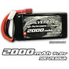 Silverback Elite 2000mAh 50C/100C 14.8v  Soft Pack 4S Lipo with Deans Plug