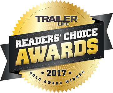 ADCO Trailer Life Readers Choice Gold Award