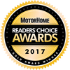 2017 Motorhome Readers Choice Gold Award