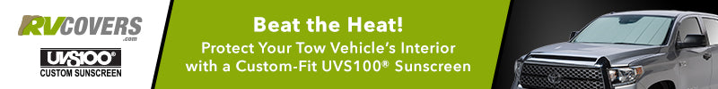 Protect Your Tow Vehicle With Custom Sun Shades
