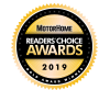 2019 Motorhome Reader Choice Award - For Best in Class RV Cover