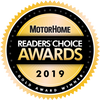Motorhome Readers Choice Gold Award 2019