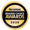 2020 Motorhome Readers Choice Gold Award