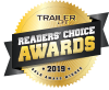 2019 Trailer Life Reader Choice Award - For Best in Class RV Cover
