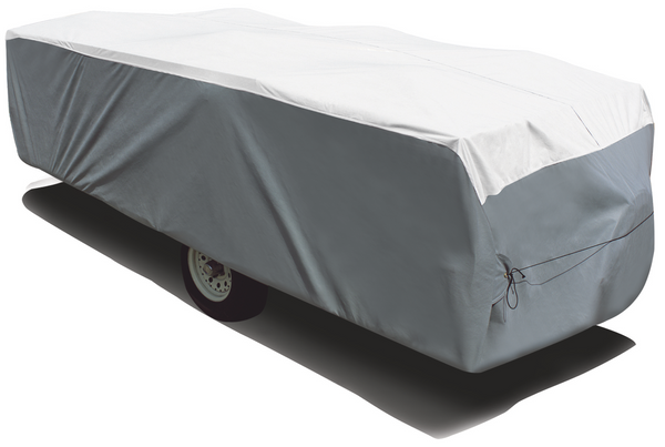 "ADCO 14'1"" to 16' Pop Up Trailer Tyvek & Polypropylene Cover"