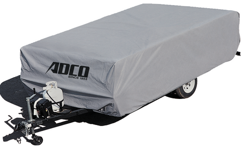 ADCO Up to 8' Pop Up Trailer SFS Aqua Shed Cover