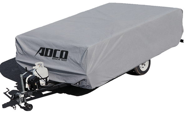 "ADCO 12'1"" to 14' Pop Up Trailer SFS Aqua Shed Cover"