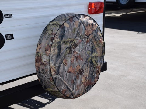 "ADCO 25.5"" Camouflage Vinyl Tire Cover"