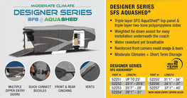 Designer Series SFS Aqua Shed 5th Wheel RV Cover
