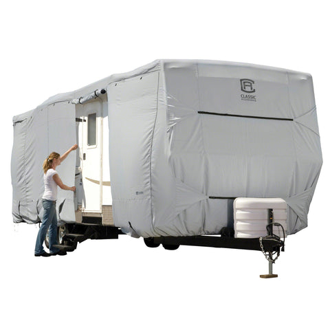 Classic Accessories 33' - 35' Overdrive PermaPro Heavy Duty Travel Trailer RV Cover