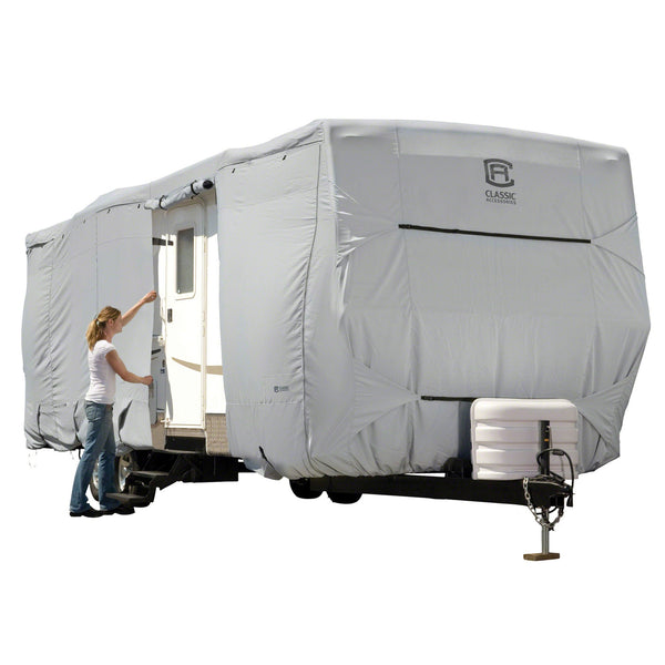 Classic Accessories 27' - 30' Overdrive PermaPro Heavy Duty Travel Trailer RV Cover