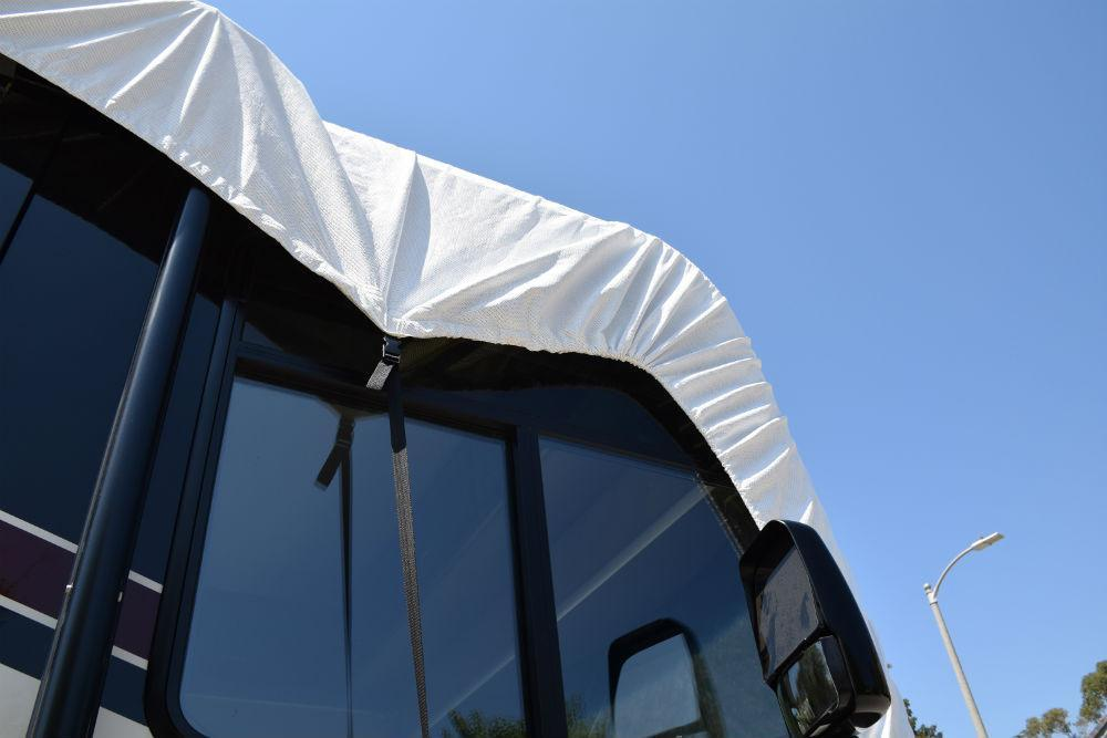 ADCO RV Roof Cover Never Touches RV Sidewalls