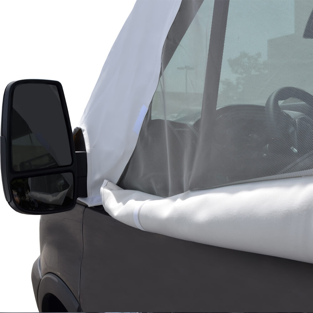 Ford Transit Van >> ADCO 2525 Ford Transit 2015-2018 Windshield Cover With Privacy Window – RVCovers.com
