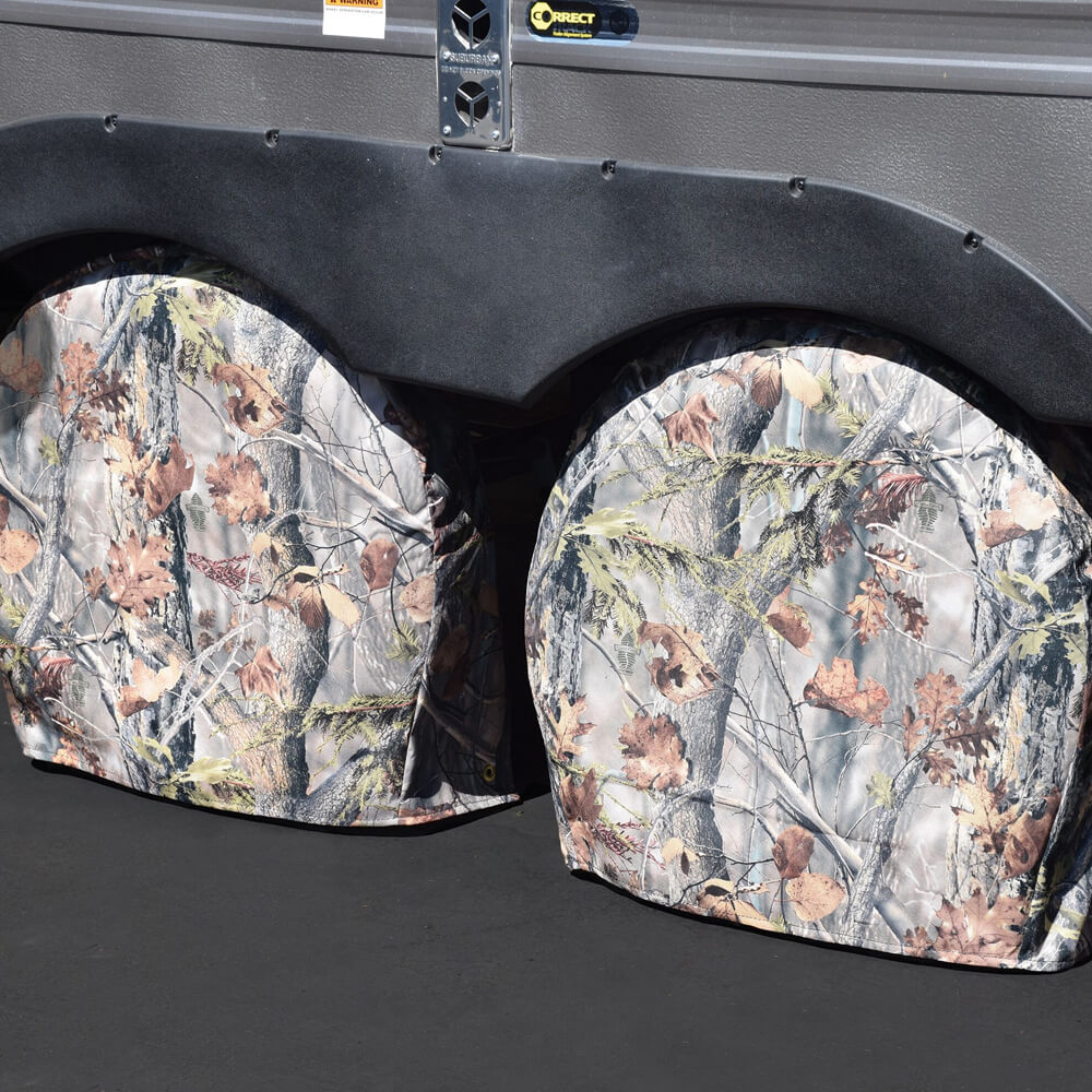 ADCO Game Creak Oak Camouflage Tyre Gards Set of 2