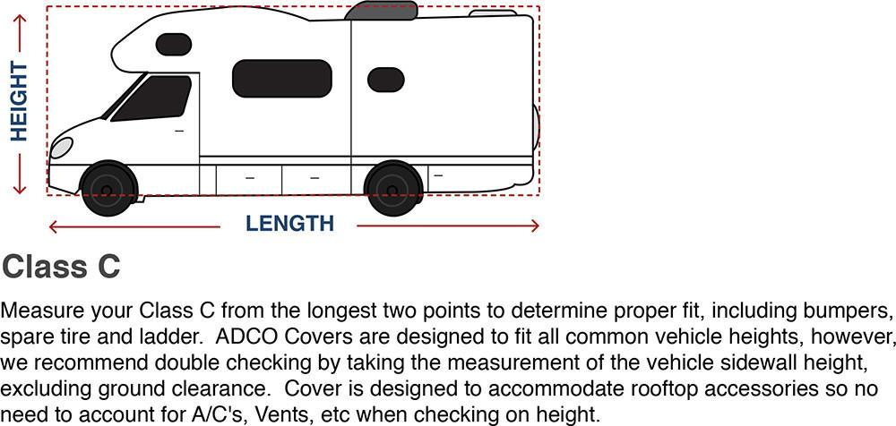 How To Measure Your Class C RV Covers