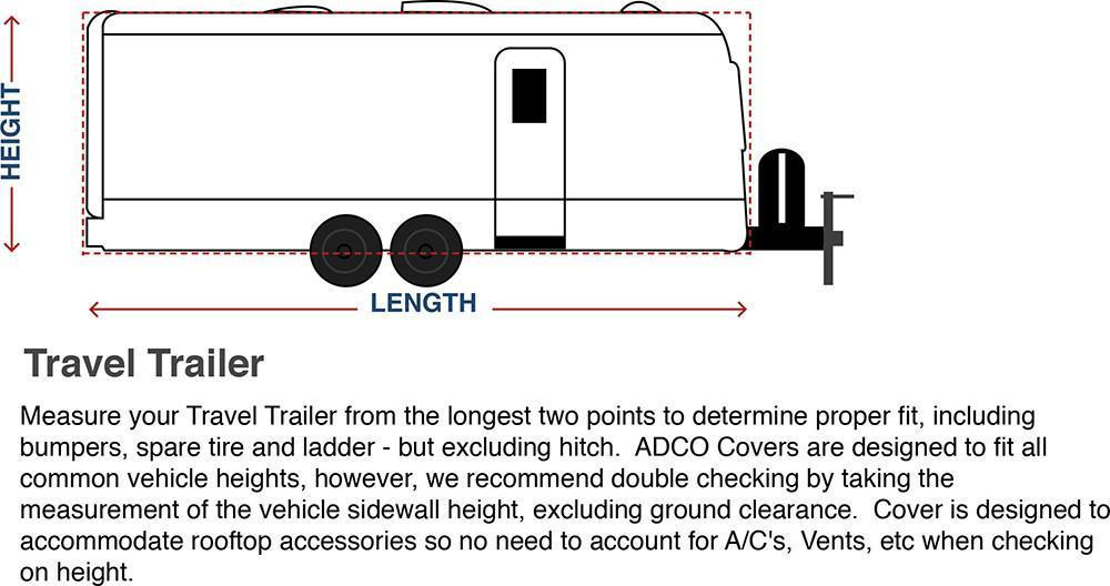How To Measure Travel Trailer Cover