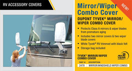 Dupont RV Side Mirror & Windshield Wiper Covers