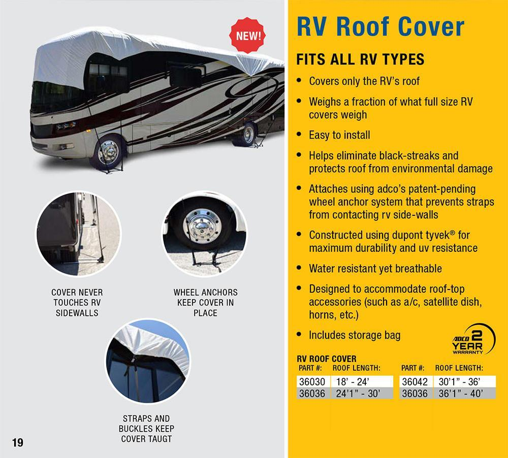 RV Roof Cover Features