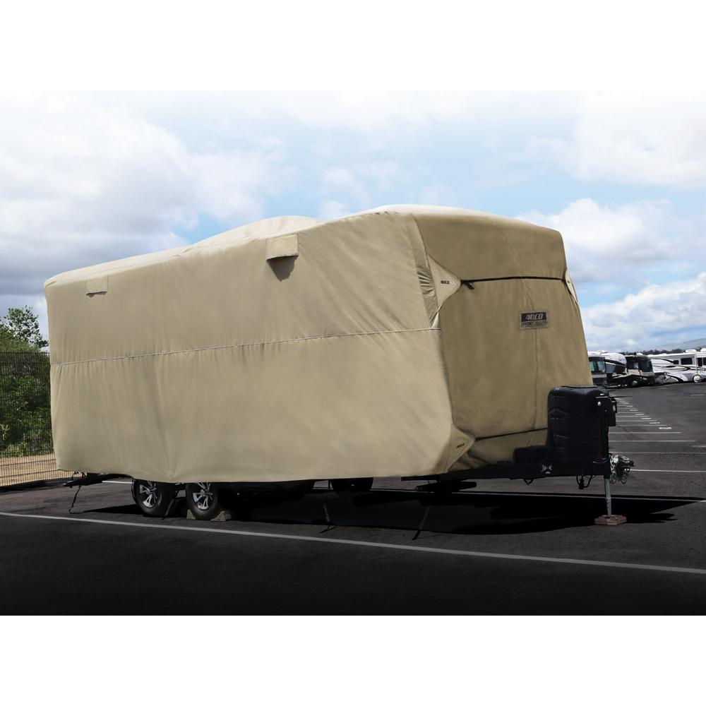 Storage Lot Travel Trailer Cover