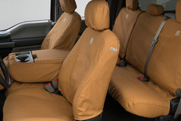 Carhartt TraditionalFit Seat Savers - Front and Rear Brown