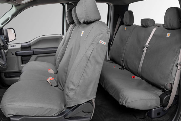 Carhartt TraditionalFit Seat Savers - Front and Rear Gravel