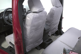Polycotton Seat Covers - Rear Storage Pockets