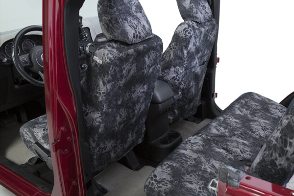 Prym1 Blackout Camo Seat Covers Storage Pockets