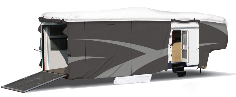 ADCO RV Cover With Side/Rear Zipper Entry Doors