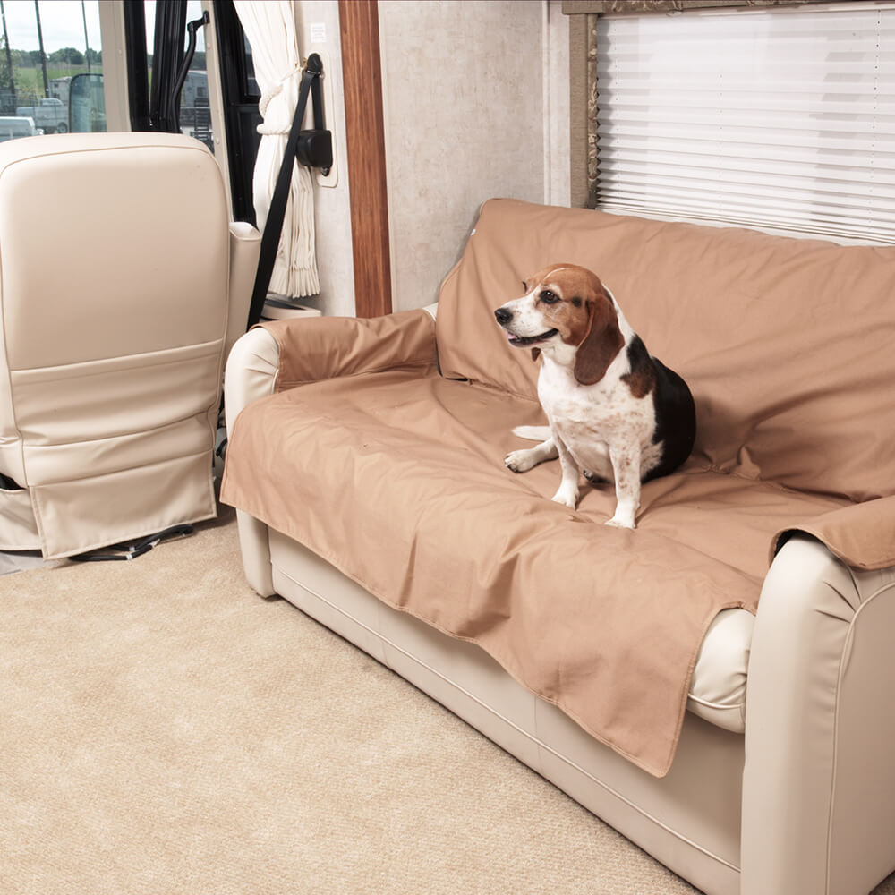 RV Sofa Covers Perfect For Pets