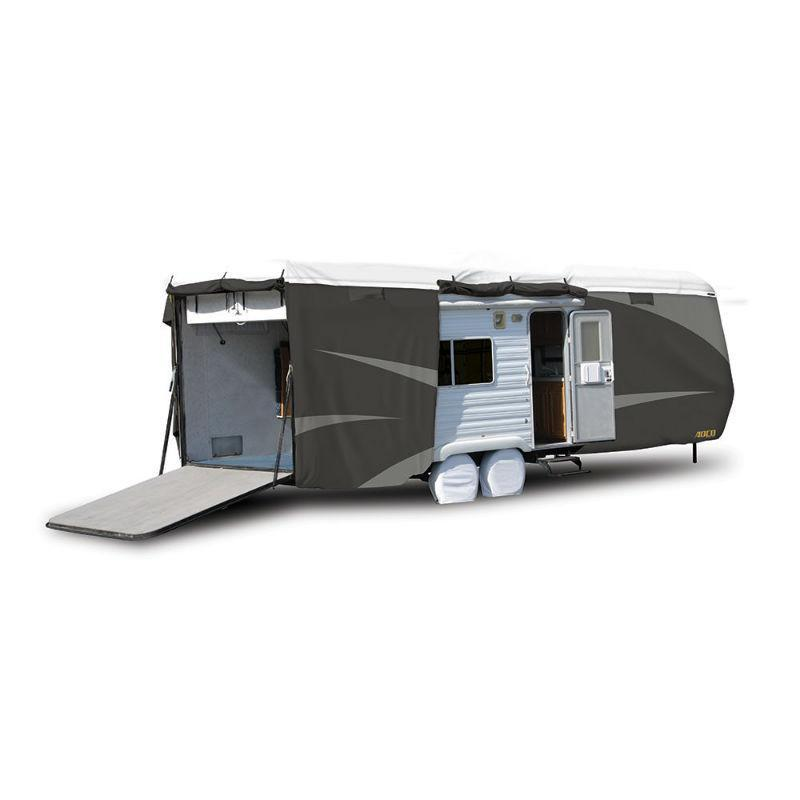 ADCO Toy Hauler RV Cover Side/Rear Zipper Entry Doors