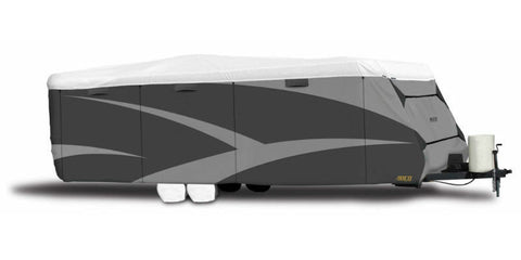 "ADCO 15'1"" to 18' Travel Trailer Designer Tyvek Plus Wind RV Cover"